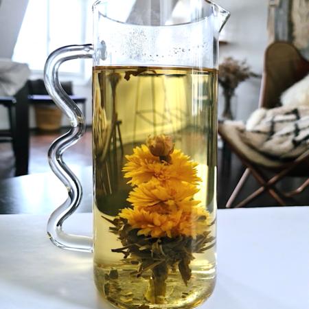 carafe fleur the. LABR Paris première maison de fleur de thé
