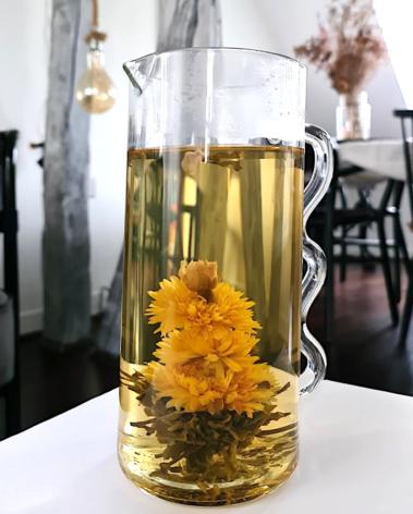 Carafe pour fleur de thé par labr