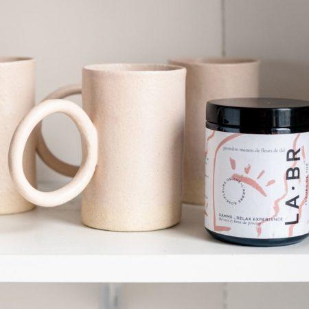 mug ceramique labr fleur de thé 6. LABR Paris première maison de fleur de thé