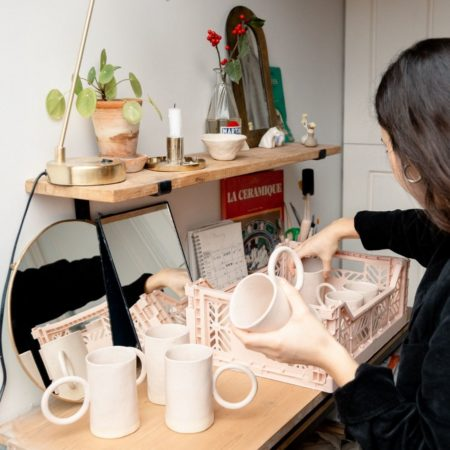 mug ceramique labr fleur de thé 7. LABR Paris première maison de fleur de thé