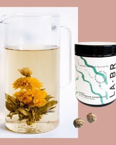 Fleurs de thé labr