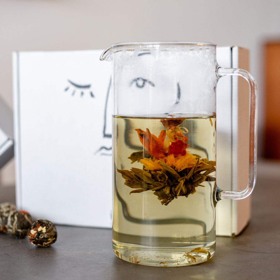Fleur de thé au lys