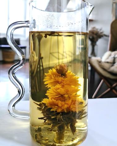 Carafe artisanale en verre soufflé labr paris