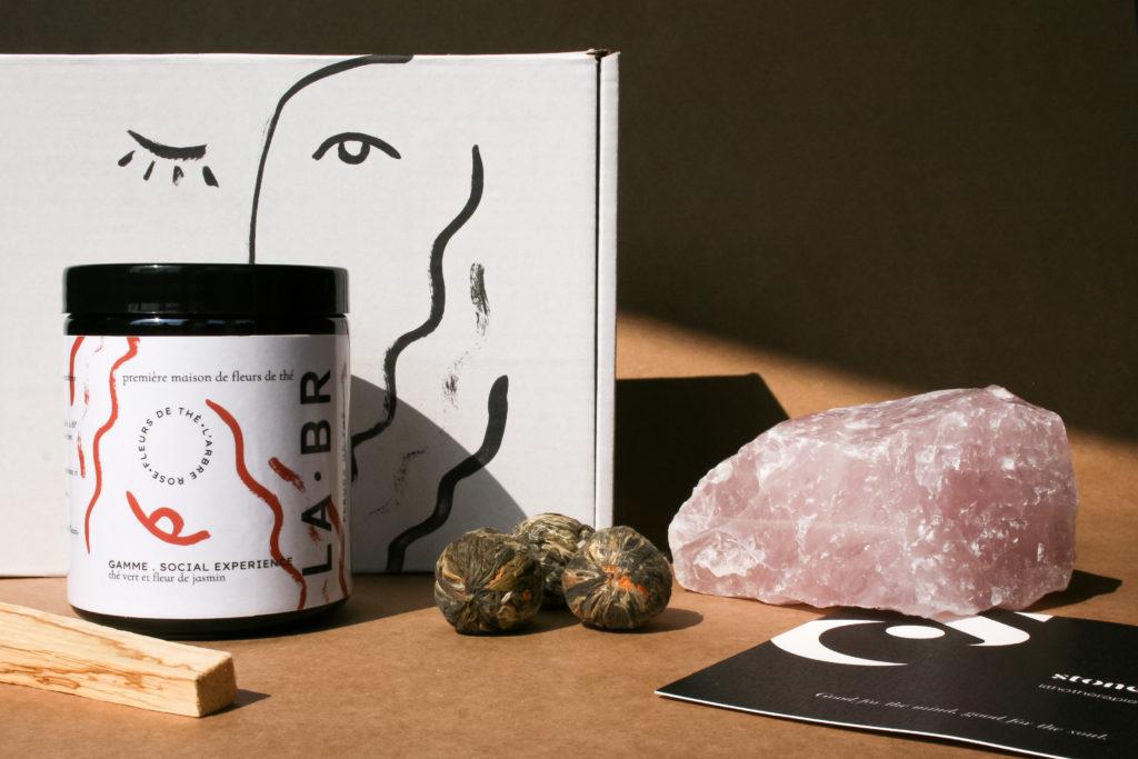 quartz rose stones club labr. LABR Paris première maison de fleur de thé