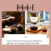 labr fleur de the cafe. LABR Paris première maison de fleur de thé